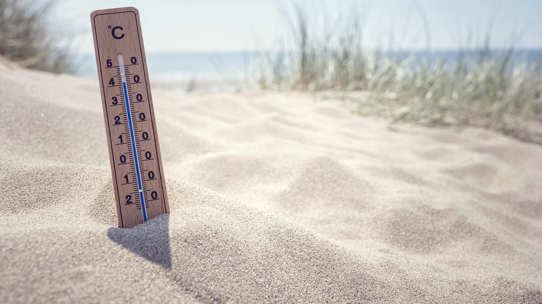 Steigende Temperaturen - bitte ohne Hitzepickel!